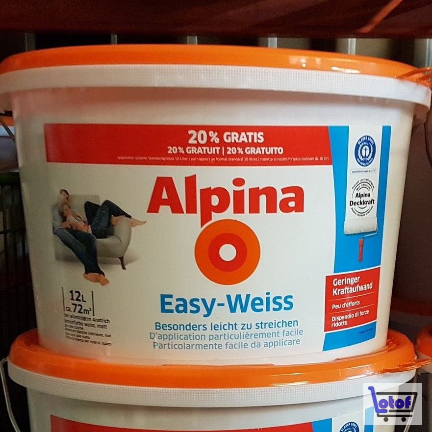 Awesome Alpina Easy Weiss Images - Erstaunliche Ideen ...