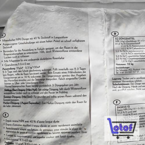Rasendünger Rapid mit Soforteffekt