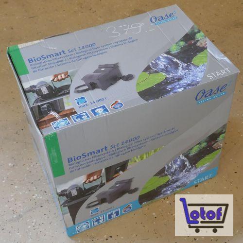 BioSmart Durchlauffilter Set 14000
